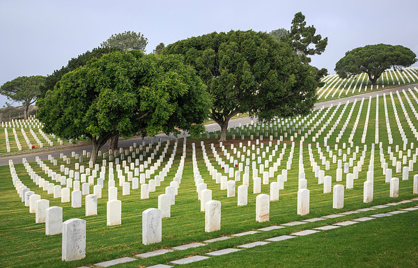 The Fallen Heroes at Rest<br /> Fort Rosecrans National Cemetery<br /> Point Loma - San Diego, CA